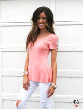 Peplum Tee | 5 Colors