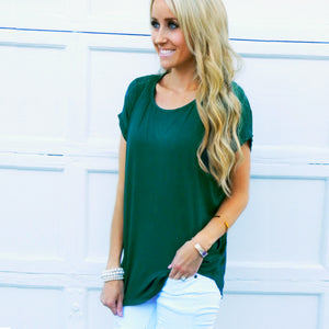 Boyfriend Rolled Cuff Tunic | 6 Colors