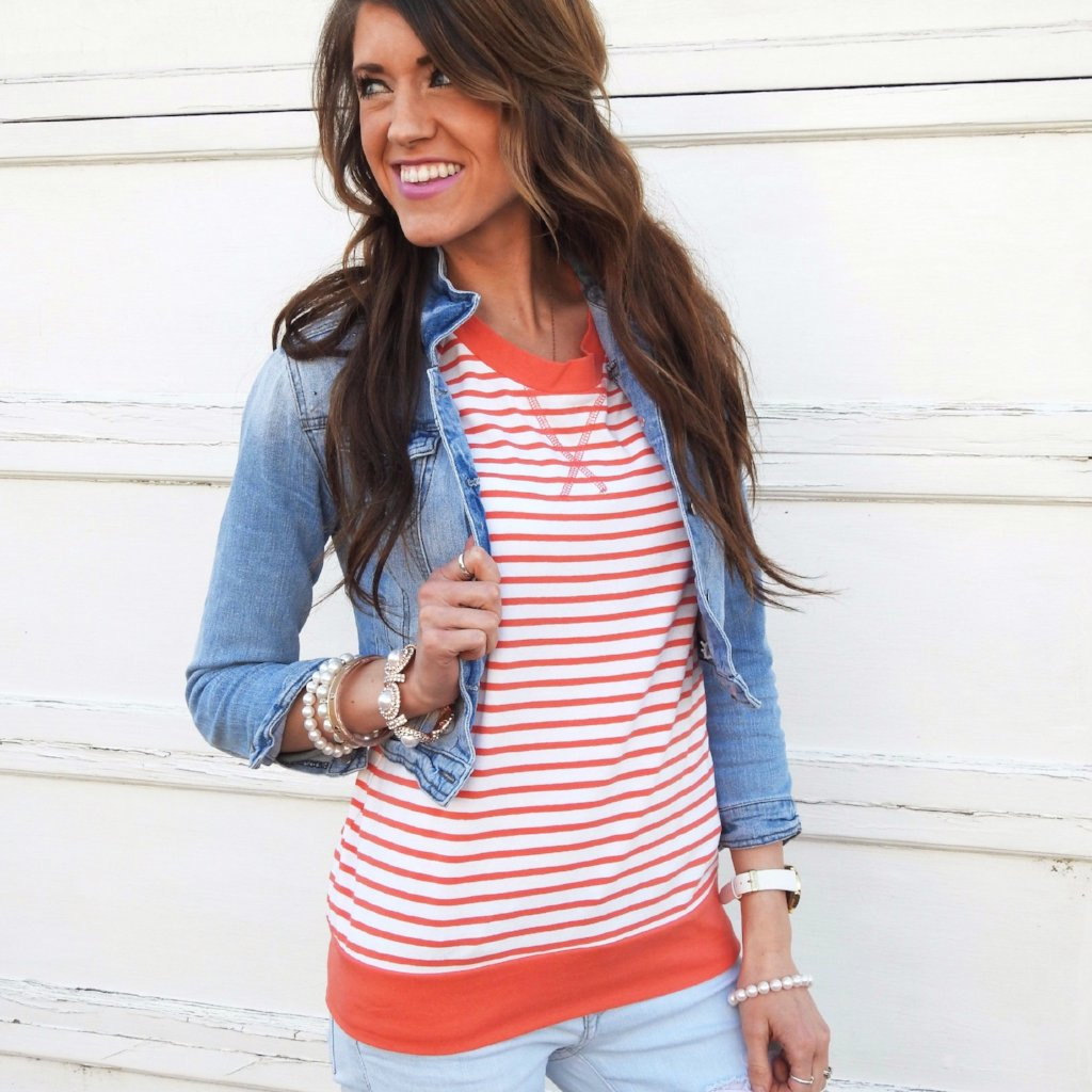 Comfy Striped Top | 4 Colors!
