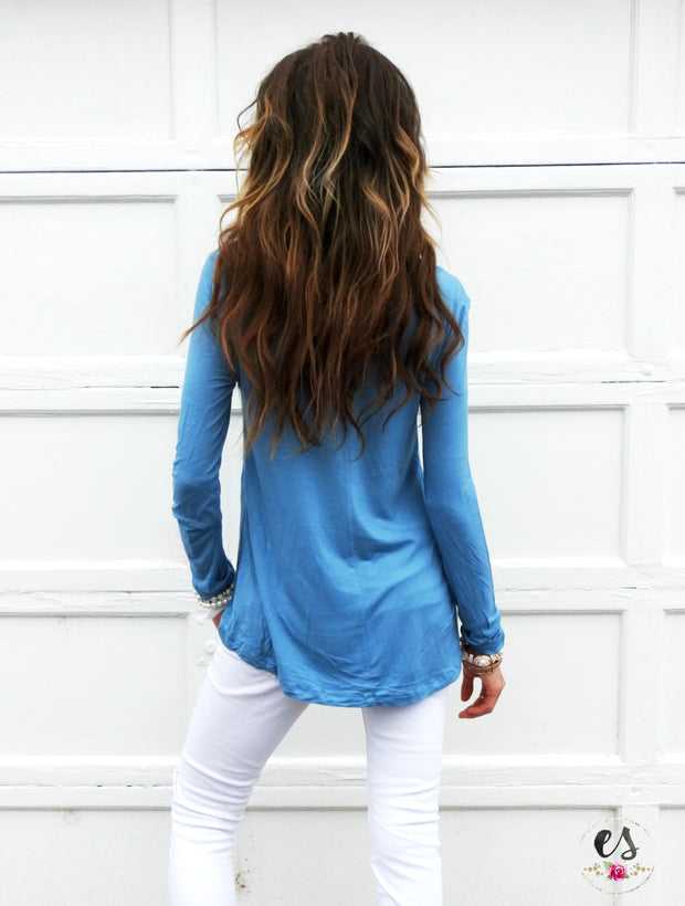 Boyfriend Long Sleeve Tee | 6 Colors!