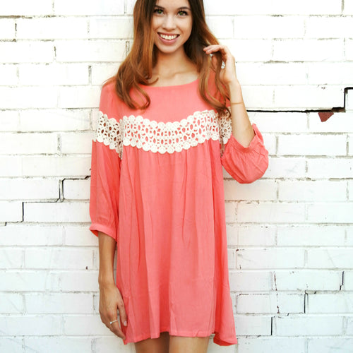 Peek of Lace Tunic | 3 Colors