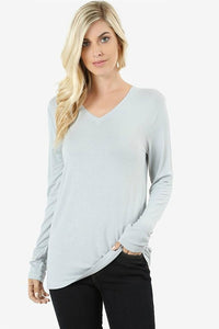 Relaxed Fit Layering Tees | 11 Colors