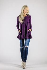 Hacci Ruffle Tunic | 6 Colors