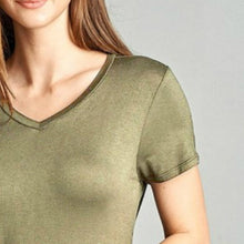 New Soft Stretch Tee | Heather Taupe