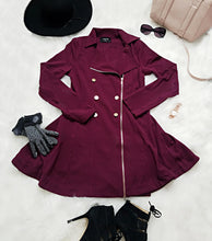 Button + Flair Peacoat | Chalk Pink