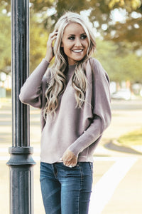 Bria Mock Neck Sweater