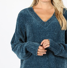 Cozy Oversized Sweater | Teal