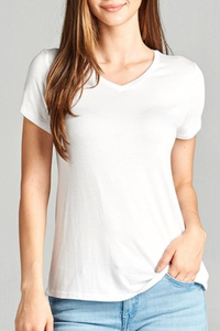 New Soft Stretch Tee | White