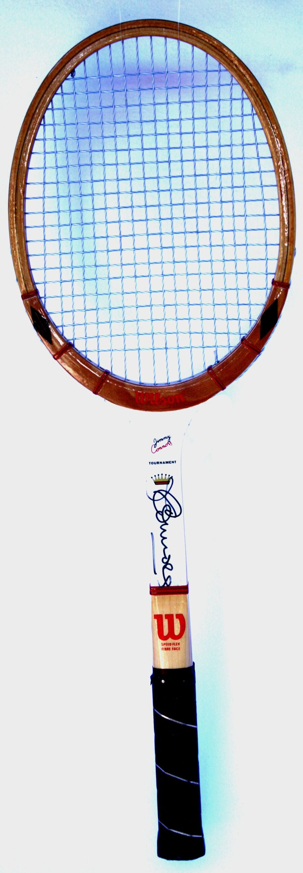 WILSON JIMMY CONNORS AUTOGRAPH