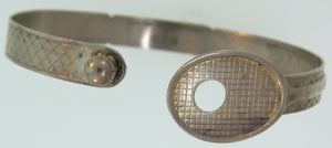 TENNIS BRACELET - BALL LOCK DESIGN