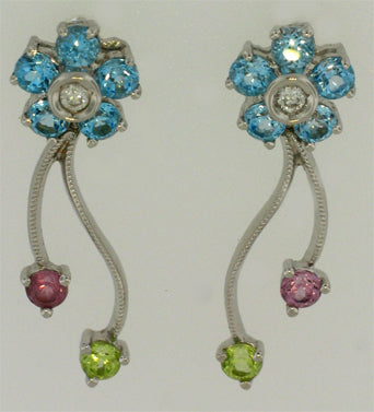 Gemtique Tennis Earrings