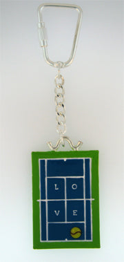 02 Tennis Key Chain - #209