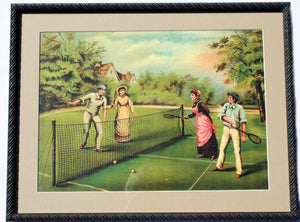 Mixed Doubles Print