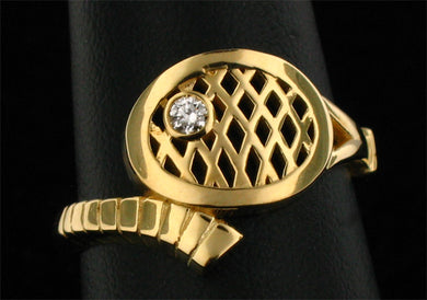 10 Finger Ring Tennis Jewelry - #177