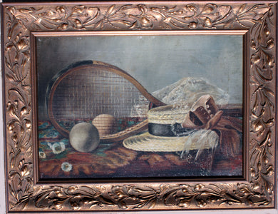Painting Tennis Still Life