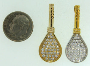 41A Tennis Racket Pendant - #60