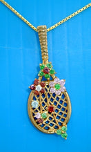 44 Tennis Racket Pendant - #169