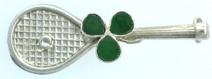 Racket Pin Clover Leaf