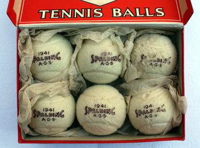 Spalding 1941 Ball Box