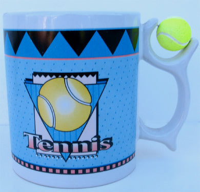Coffee Mug Tennis Gift