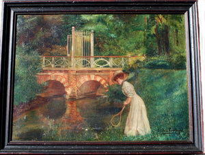 Young Lady with Bridge Creek
