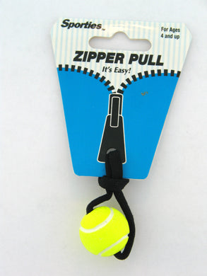 Zipper Pull Tennis Gift