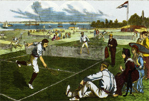 02 Tennis Art Print New Brighton - #358