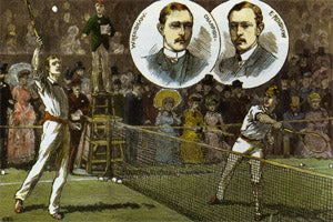 11 Tennis Art Print Renshaw Brothers - #360