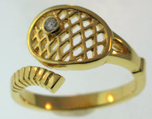 06 Tennis Ring - Gold Plated - #177A