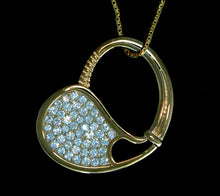 06A Tennis Racket Pendant - #188C