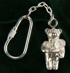 05 Tennis Key Ring - Bear - #206