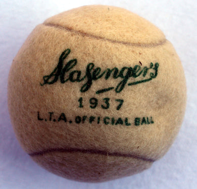 Slazenger Ball 1937