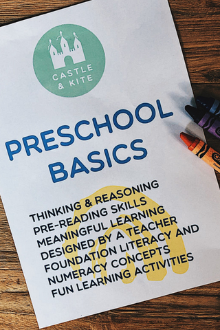 Preschool Basics coversheet