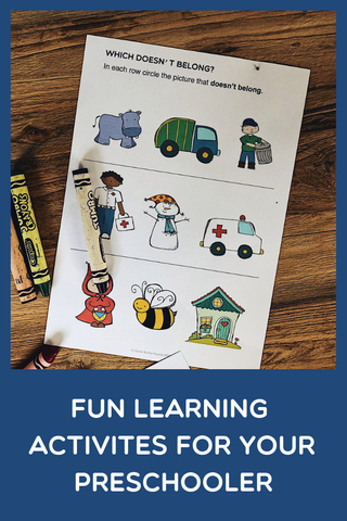 Early Learning activities for preschoolers
