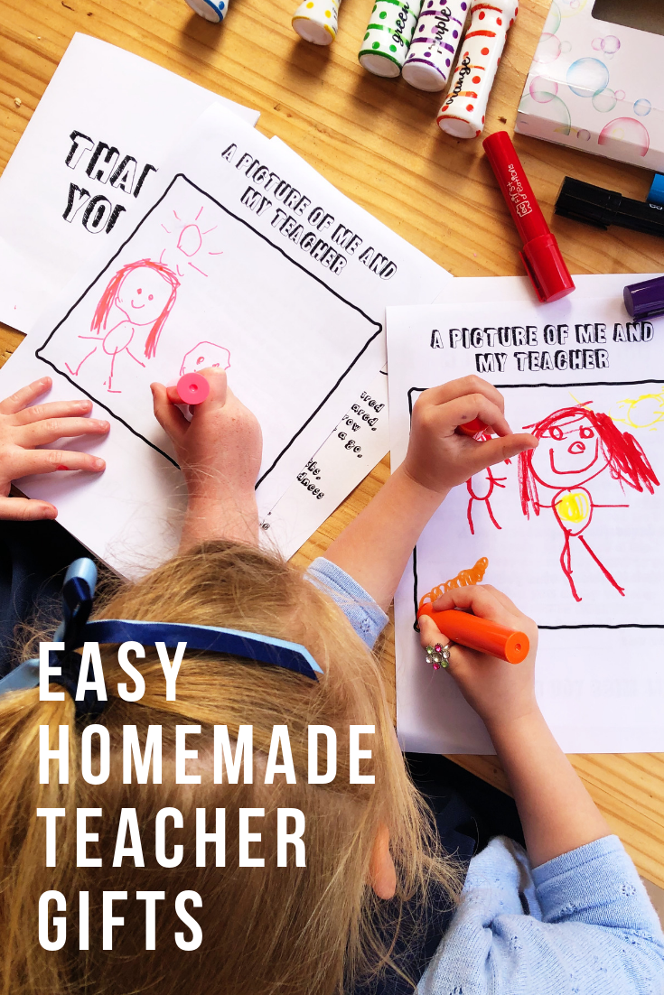 easy homemade gifts for teachers