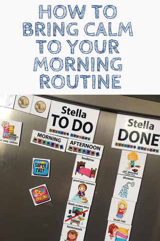 Make your morning routine calmer