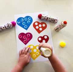 Dot Marker Valentines Day activity