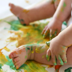 fingerpainting for babies