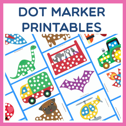 Fun Dot Marker Printables