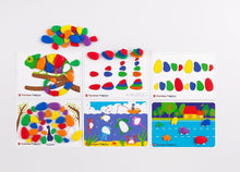 Load image into Gallery viewer, edx Education Rainbow Pebbles Activity Set