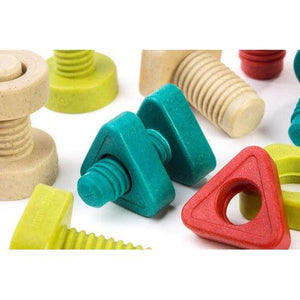 Miniland Aptitude Eco Activity Nuts and Bolts, 24 pcs