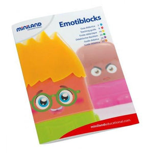 Miniland Aptitude Emotiblocks, 25 pieces