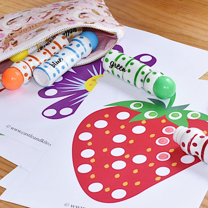 Pretty Dot Marker Printables