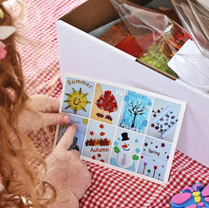 Seasons Craft Box **Includes Shipping** - Castle & Kite