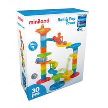 Load image into Gallery viewer, Miniland - Roll and Pop Tower