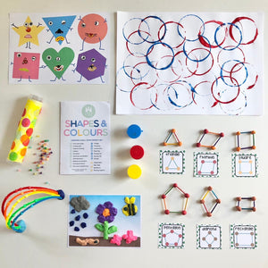 Colours & Shapes Craft Box
