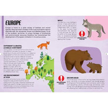 Load image into Gallery viewer, Sassi Travel, Learn and Explore - Puzzle and Book Set - Endangered Species of the Planet, 205 pcs