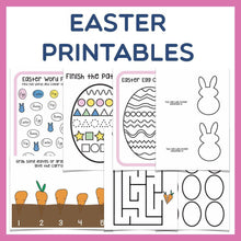 Load image into Gallery viewer, Easter Printables
