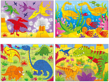 Load image into Gallery viewer, Dinosaurs- 4 Puzzles