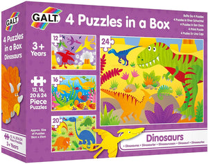 Dinosaurs- 4 Puzzles